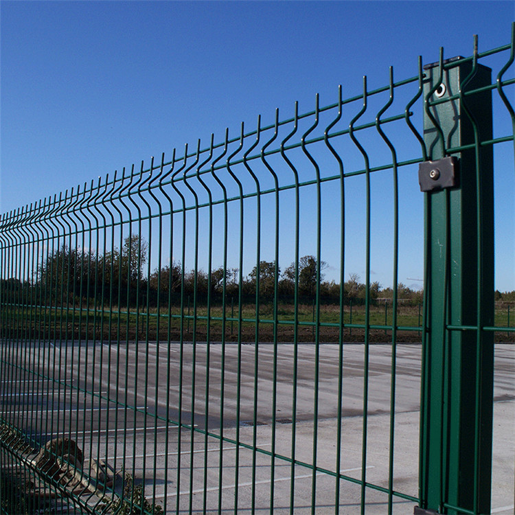 PVC coated 3D Security welded wire mesh fence Featured Image