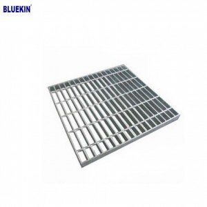 Metal Building Materials chesang kena galvanized tšepe grating