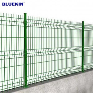 Cheap wrought pvc cotaed iron fence panels for sale