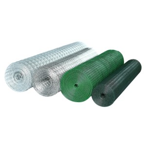 cheap welded pvc coated wire mesh fence