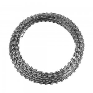 galvanized concertina wire length per roll