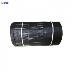 PP landscape fabric wire backed silt fence