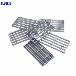 Galvanized steel grating for metal building materials