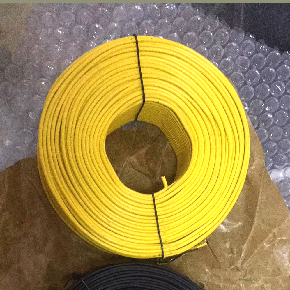 Small coil pvc coated  rebar tie wire, binding wire Featured Image