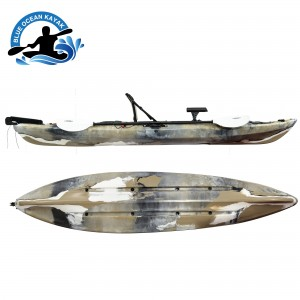 3.6M Fishing Kayak me seli Alumini