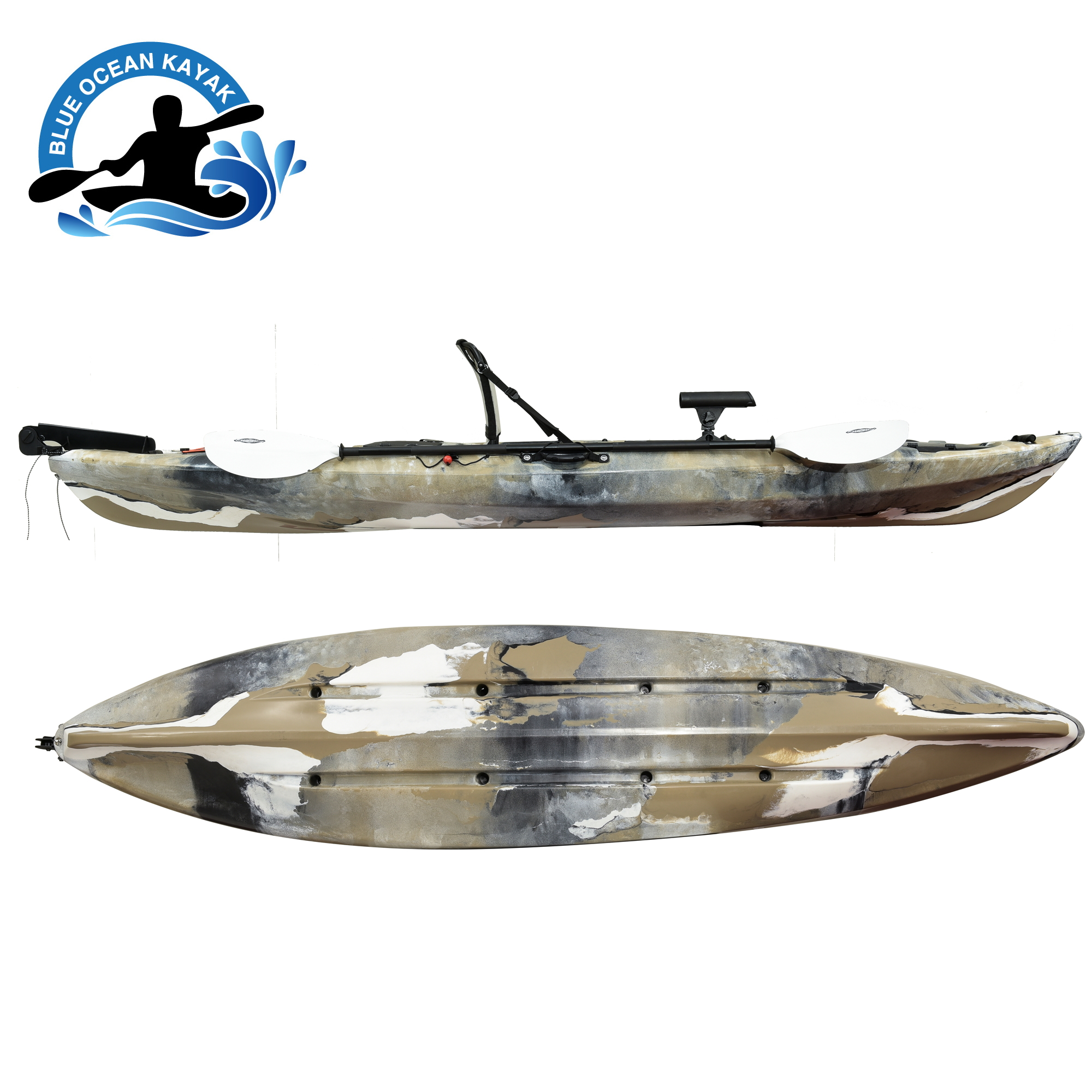 One of Hottest for Single Person Plastic Kayak -