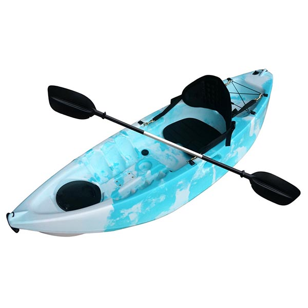 Special Design for Single Deluxe Aluminum Seat Fishing Kayak -