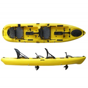 8 Year Exporter Family Kayak Wholesale With Pedal -