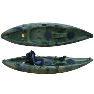18 Years Factory 11.3ft Pedal Kayak Fishing Ship Propulsion Flap Engine Powewd Racing Kayak Plastic Canoe Kayak
