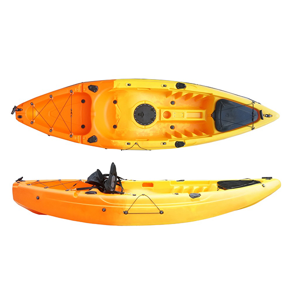 factory low price Plastic Boat Single Child Kids Kayak -