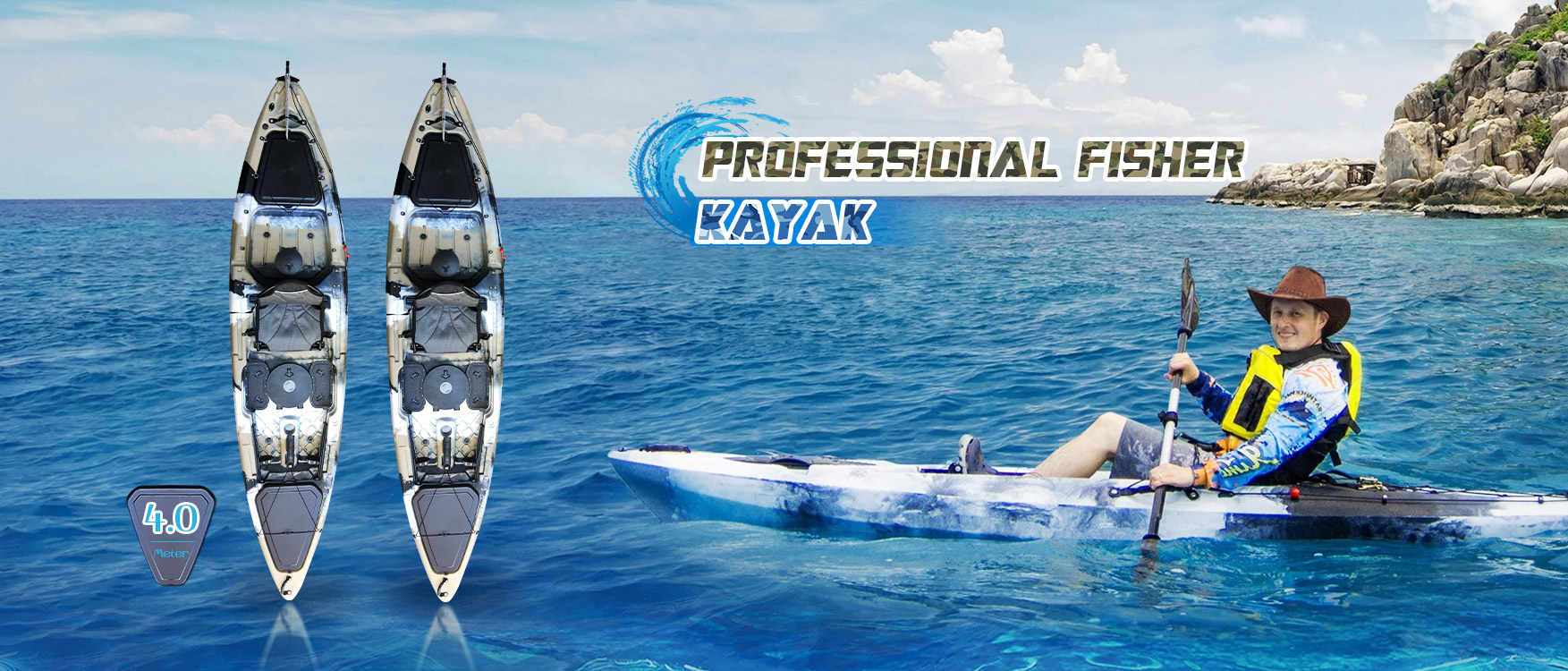 China Foot Pedal Fishing Kayak Manufacturers And Suppliers Factory Quotes Oceanus