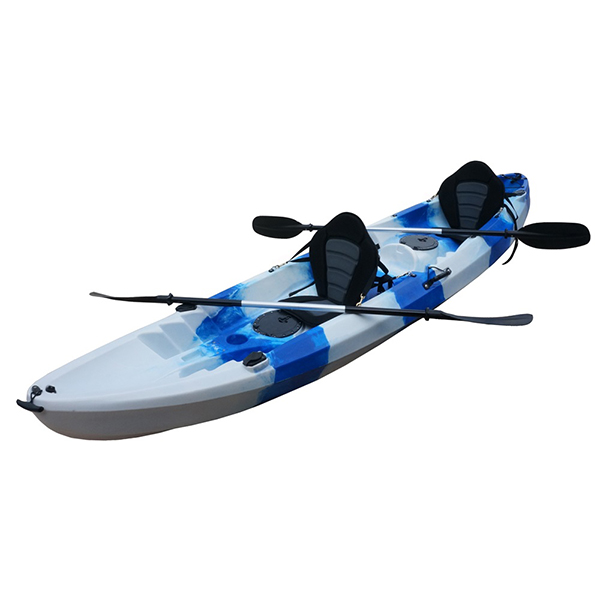 Fixed Competitive Price Single Seat Blue Ocean Fishing Kayak -