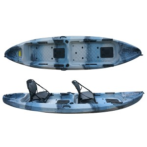 High Quality for 3.6meter Single Fishing Kayak Sit On Top Electric Motor And Pedal Kayak