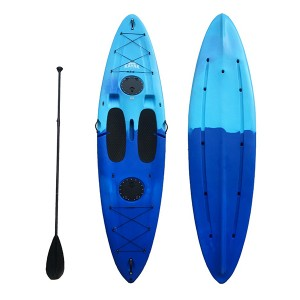 Big Discount Light Weight Speed Glass Fiber Double Kayak K2 For Sale