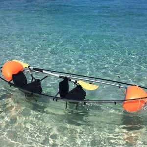 Cheap price Transparent Clear Plastic Boat -