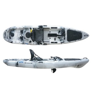 Quoted price for Rotomolded Kayak Hybrid 12ft Fishing Kayak With Pedal And Aluminum Seat