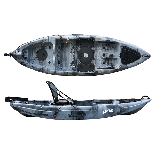 Excellent quality Double Transparent Kayak -