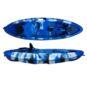 Well-designed Universal Sit On Top Kayak Riptide Angler 350cm Roto Molded Polyethylene Single Seater Fishing Kayak