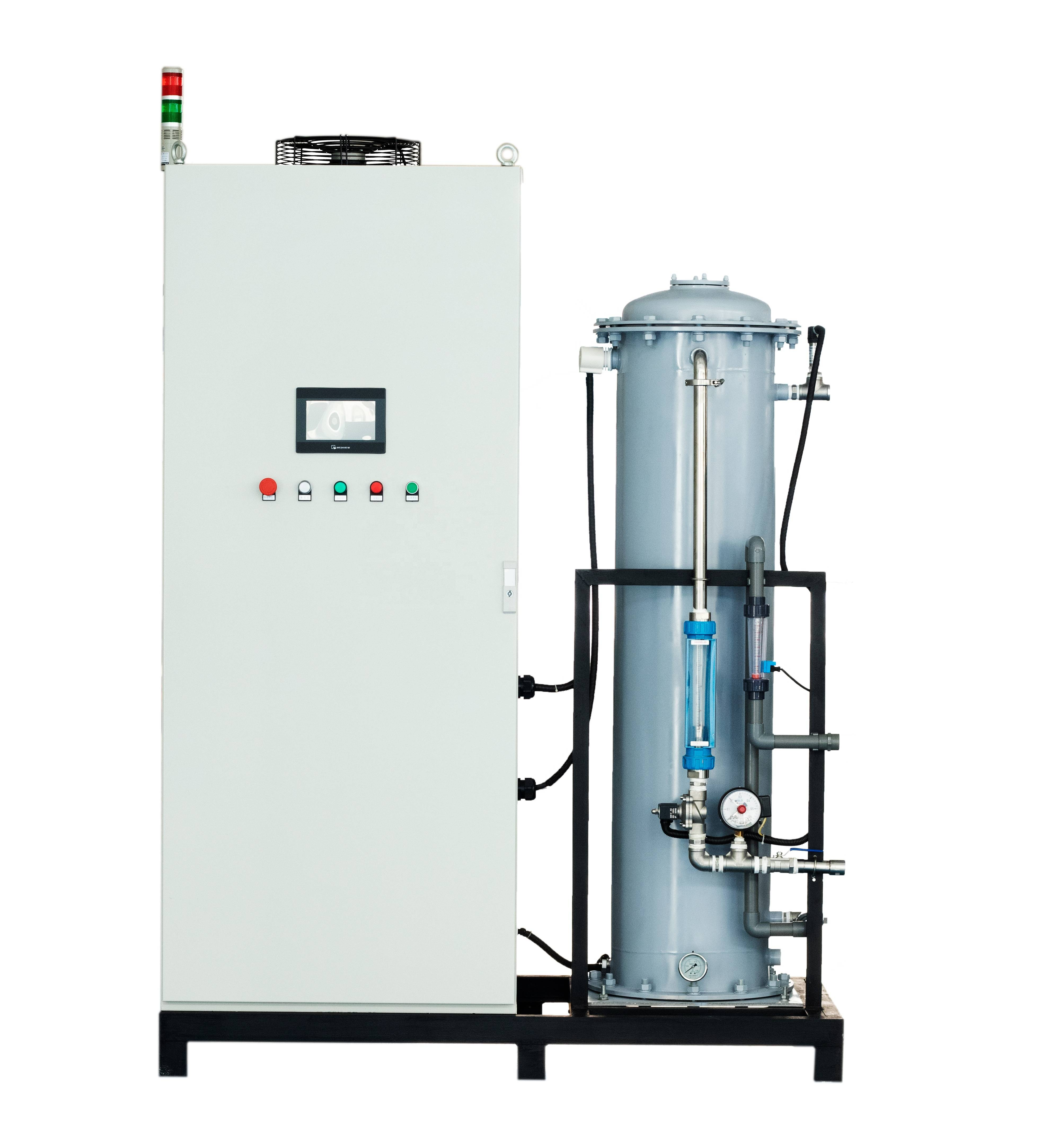 1.5~5kg/h water cooling ozone generator Featured Image