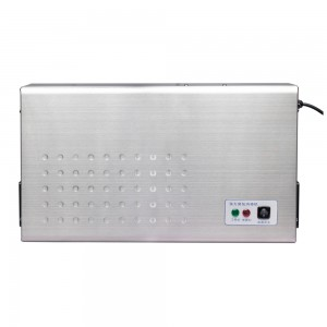 Wall mounted air sterilizer—ozone generator