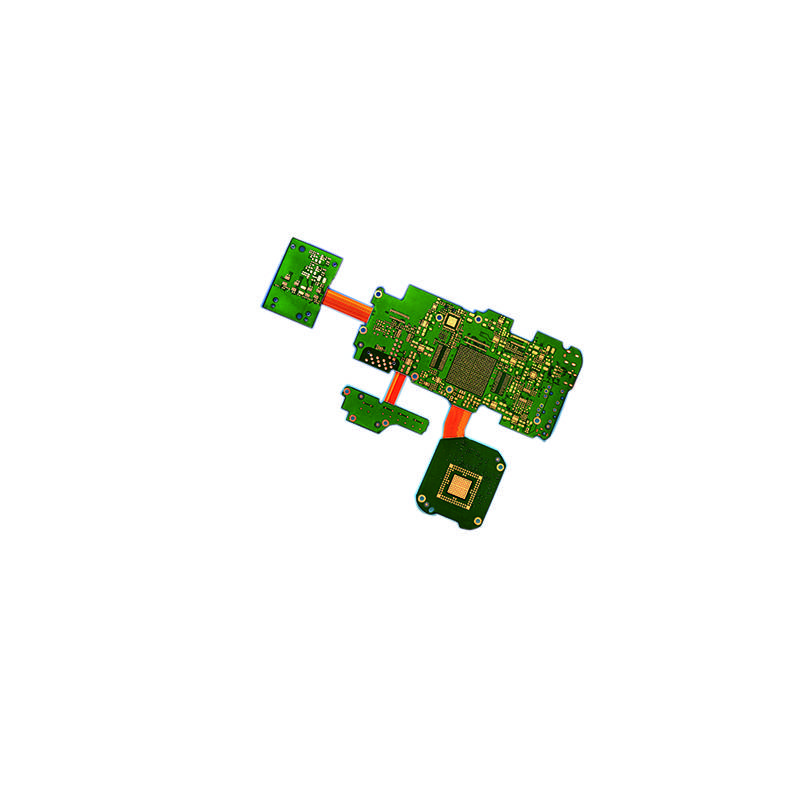 Factory making Rigid-Flex Pcb Assembly -