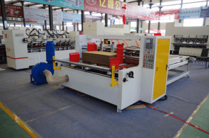 corrugated cardboard slitter scorer machine, carton rotary slitting and creasing machine