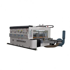 Mid Speed Printing Slotting Die-cutting(option) Machine