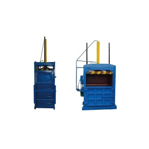 Waste paper hydraulic press machine/cardboard press bundling machine