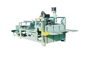 Semiautomatic Corrugated Carton Box Board Folding And Gluing Machine