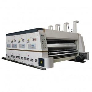 Chain Feed Type Printing Slotting Machine