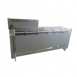 corrugated carton board manual slitter scorer, carton box making machine slitter scorer