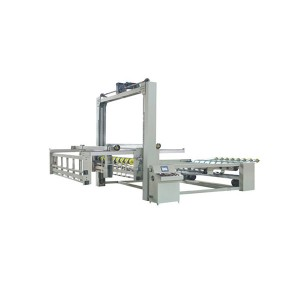 corrugated carton paperboard strapping machine