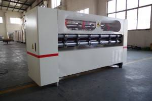 thin blade slitter scorer machine used corrugated board , corrugated cardboard slitter scorer