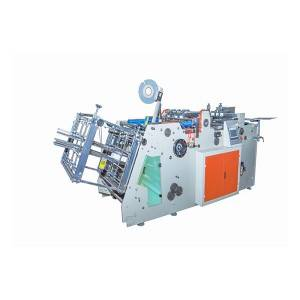 Automatic paper carton erecting machine