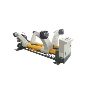 ZJ-Y corrugated paper hydraulic mill roll stand /carton making machine