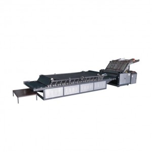 Semi-automatic flute laminator machine
