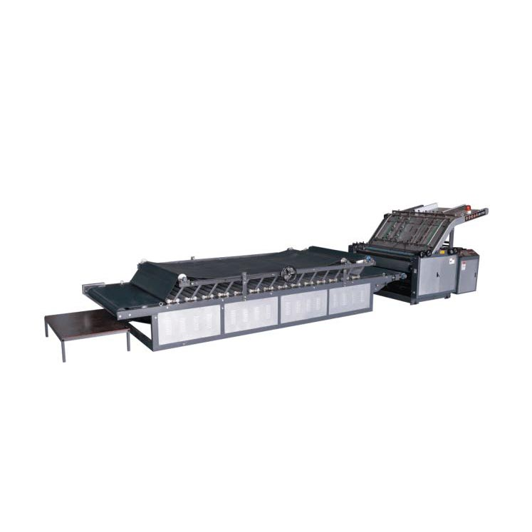 Best quality Double Side Pasting Machine - Semi-automatic flute laminator machine – Bongo detail pictures