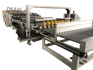 Fast delivery Corrugated Paperboard Slitting Scoring Machine - 1800 Type PLC Single Corrugated Vertical And Horizontal Cutting Machine – Bongo