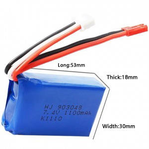 China OEM 3.7 Volt Lipo Battery -