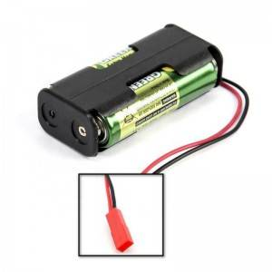 Abs Plastic 1.5v 3v 4.5v 6v 9.6v 12v 24v battery holder tube 2 aa battery holder 2