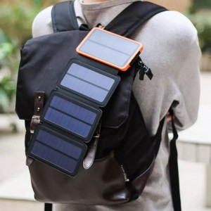 Water proof foldable solar power bank 10000mah|20000mah factory