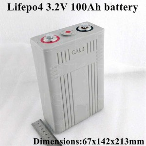 Supply ODM Rechargeable Phosphate Cell Prismatic lithium ion 3.2v 100ah Lifepo4 Battery