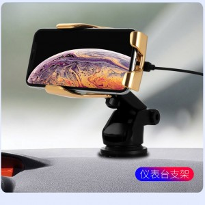 Automatic Clamping infrared induction 10W Qi Wireless Car Charger For iPhone Xs Huawei LG Nokia