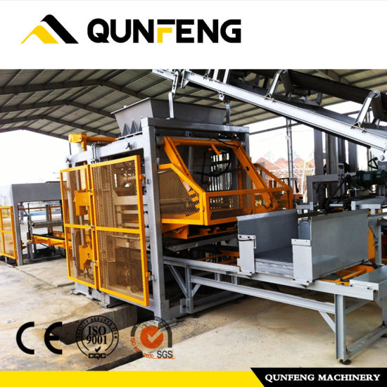 Factory Supply Fully Automatic Concrete Block Making Machine - Concrete Block MachineCement Brick MachinePaving Brick Machine – Qunfeng