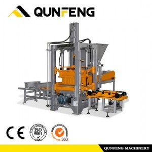Cement Brick Making Machine med CE-certifikat