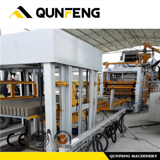 Automatic Concrete Cement Brick /Block Making Machine