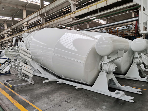 12CBM Concrete Mixer Upper Body