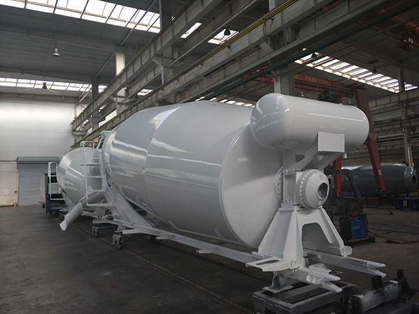 9CBM concrete mixer upper body