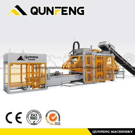 Brick Making Machine/Made in China Automatic Block Machine Qft Series
