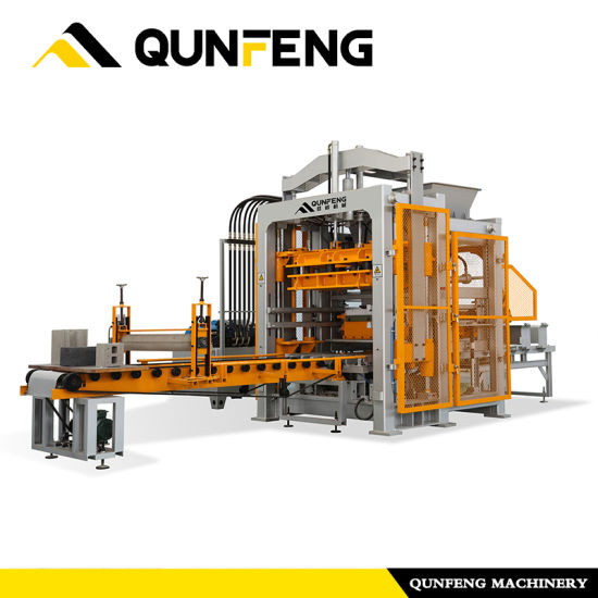 OEM/ODM Supplier Brick And Paving Making Machine - Qf800 Block Machine, Concrete Paver Machine, Curb Stone Machine – Qunfeng